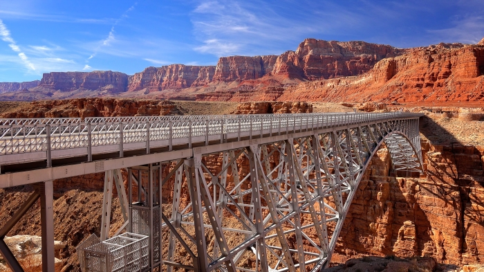Navajo Bridge Near Page, Arizona