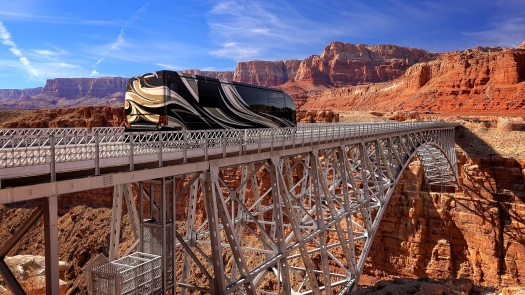 Navajo Bridge Near Page, Arizona